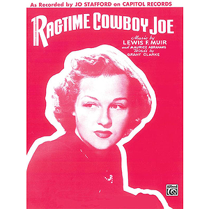 Ragtime Cowboy Joe - P/V Sheet