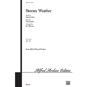 Stormy Weather - SATB