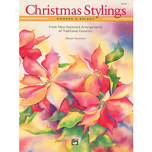 Christmas Stylings - Modern & Bright, Book 1