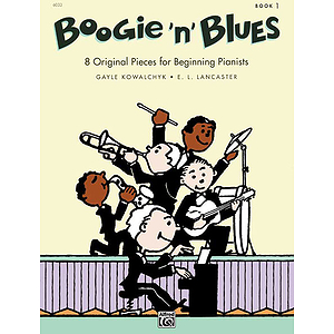 Boogie 'N' Blues - Book 1