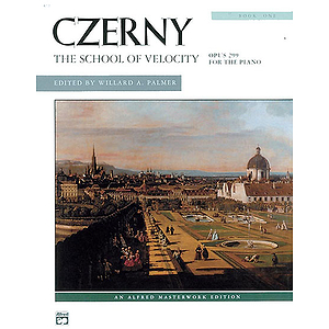 Czerny - School of Velocity, Book 1