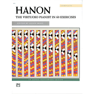 Hanon - the Virtuoso Pianist in 60 Exercises - Complete (Spiral Bound)