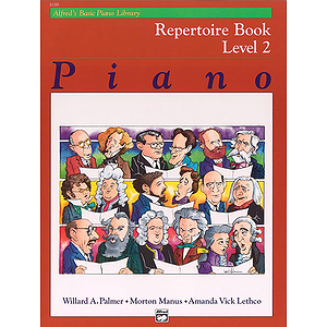 Alfred's Basic Piano Course - Repertoire Book Level 2