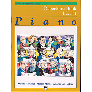 Alfred's Basic Piano Course - Repertoire Book Level 3