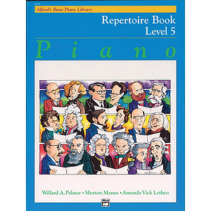 Alfred's Basic Piano Course - Repertoire Book Level 5