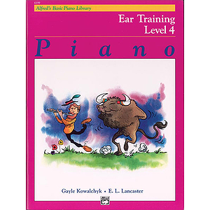 Alfred's Basic Piano Course - Ear Training Book Level 4