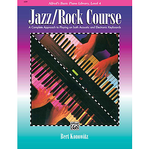 Alfred&#039;s Basic Jazz/Rock Course - Lesson Book Level 4