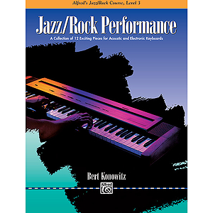 Alfred's Basic Jazz/Rock Course - Performance Level 3
