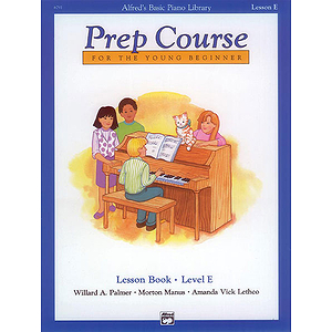 Alfred's Basic Piano Prep Course - Lesson Book Level E