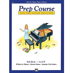 Alfred's Basic Piano Prep Course - Solo Book Level E