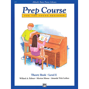 Alfred's Basic Piano Prep Course - Theory Book Level E