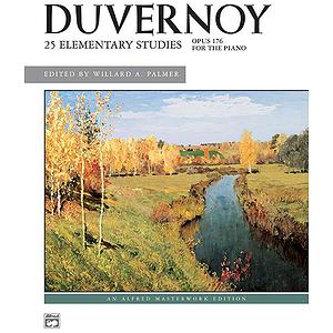 Duvernoy - 25 Elementary Studies, Op. 176