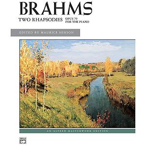 Brahms - 2 Rhapsodies, Op. 79