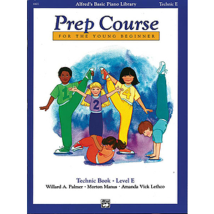 Alfred's Basic Piano Prep Course - Technic Book Level E