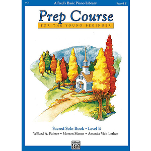 Alfred's Basic Piano Prep Course - Sacred Solo Book Level E