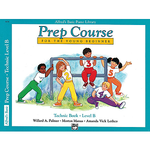Alfred's Basic Piano Prep Course - Technic Book Level B