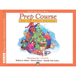 Alfred's Basic Piano Prep Course - Christmas Joy! Level A