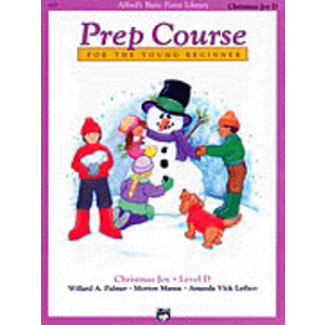 Alfred's Basic Piano Prep Course - Christmas Joy! Level D