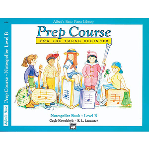 Alfred's Basic Piano Prep Course - Notespeller Book Level B