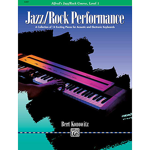 Alfred's Basic Jazz/Rock Course - Performance Level 1