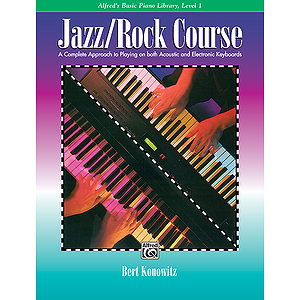 Alfred's Basic Jazz/Rock Course - Lesson Book Level 1