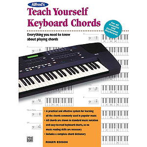 Alfred's Teach Yourself Keyboard Chords - Book