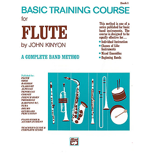 John Kinyon's Basic Training Course, Book 1: Flute