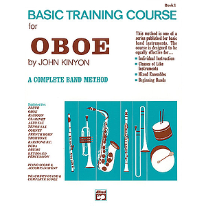 John Kinyon's Basic Training Course, Book 1: Oboe