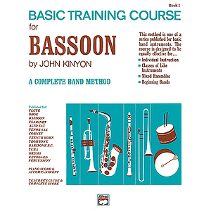 John Kinyon's Basic Training Course, Book 1: Bassoon