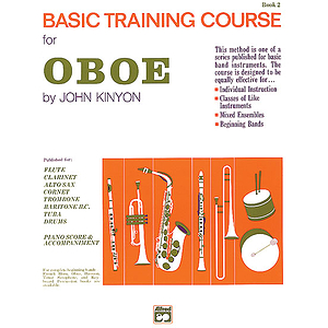 John Kinyon's Basic Training Course, Book 2: Oboe