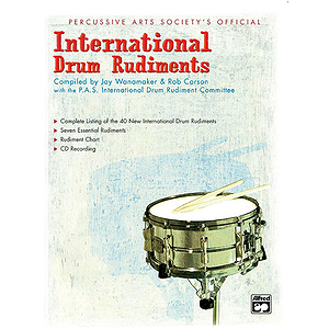 International Drum Rudiments - Book