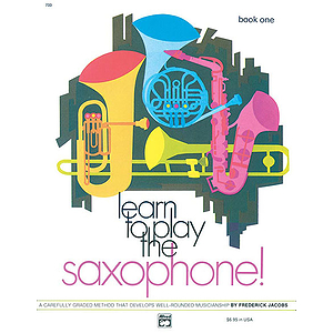Learn To Play Saxophone, Book 1