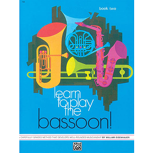 Learn To Play Bassoon, Book 2