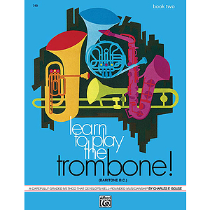 Learn To Play Trombone, Baritone B.c., Book 2