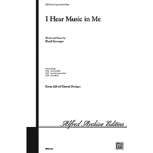 I Hear Music in Me - 3-Part Mixed