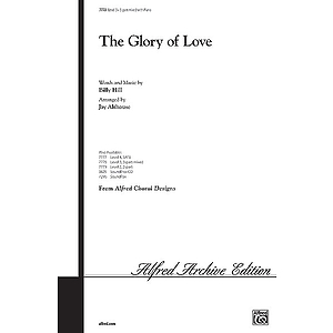 Glory of Love, the - 3-Part Mixed