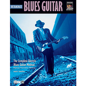 Intermediate Blues Guitar - Book & CD