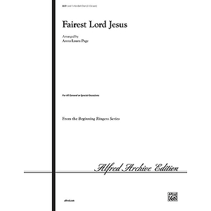Fairest Lord Jesus - 2-3 Octaves 1
