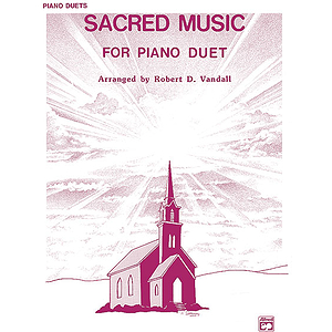 Sacred Music for Piano Duet (1P, 4H)