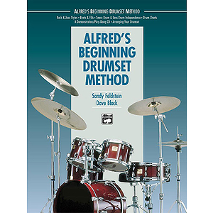 Alfred's Beginning Drumset Method - Book