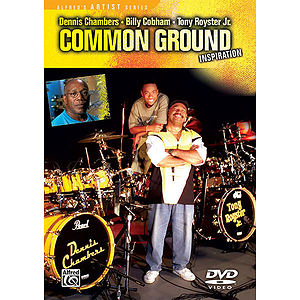 Inspiring Drummers Series: Common Ground (DVD)