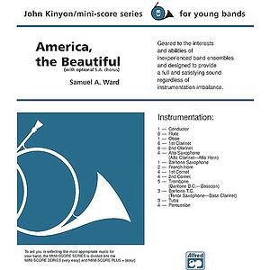 America, the Beautiful (With Optional Sa Chorus)