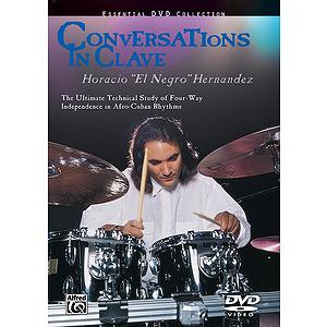 """Horacio """"El Negro"""" Hernandez - Conversations in Clave - DVD"""