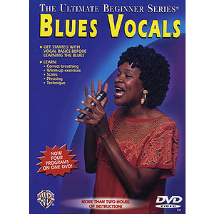 Ultimate Beginner Series: Blues Vocals (DVD)