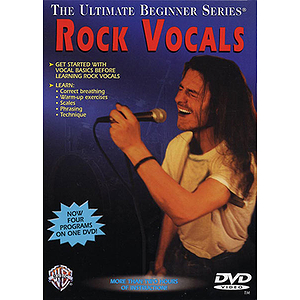 Tim Bogert - Ultimate Beginner Series: Rock Vocals (DVD)