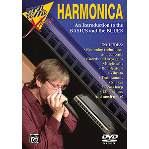 Ultimate Beginner Series - Harmonica Basics - Blues (DVD)