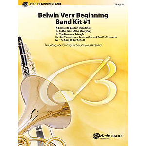 Belwin Very Beginning Band Kit#1