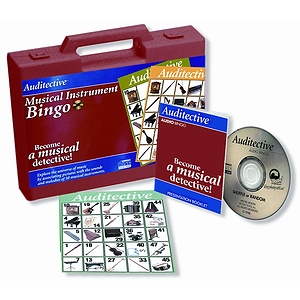 Musical Inst Bingo + CD & Case