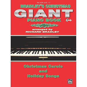 Bradley's Big Note Giant Christmas Piano Book