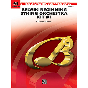 Belwin Beg String Orchestra Kit #1